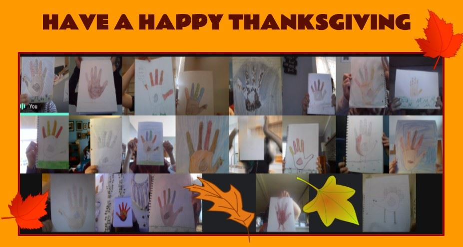 Happy Thanksgiving from our BSMS 6th Grade Art Class