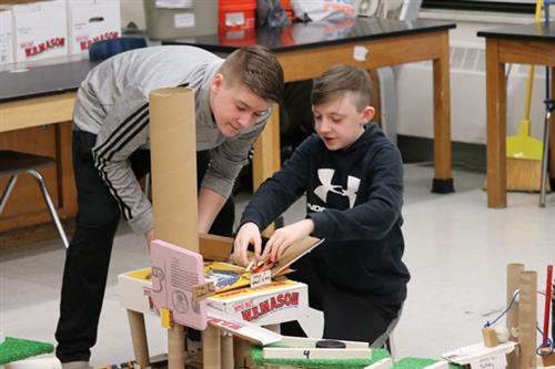 Rube Goldberg Projects Come to a Completion