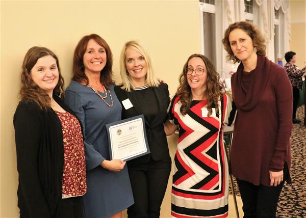 Milton Terrace Receives Recognition from NE Region PTA