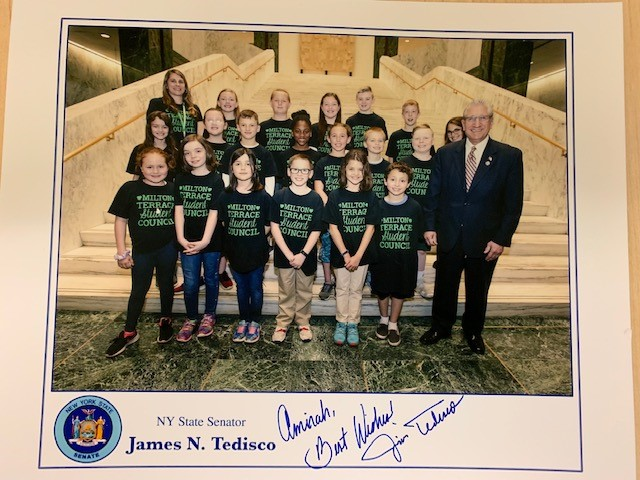 MTE Student Council Visits the State Capitol