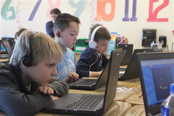 Hour of Code at Wood Road