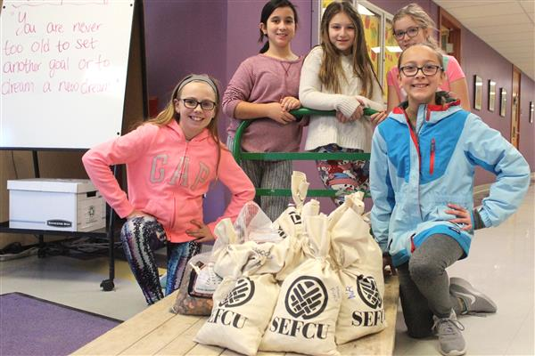 Students Choose Charity for Pennies