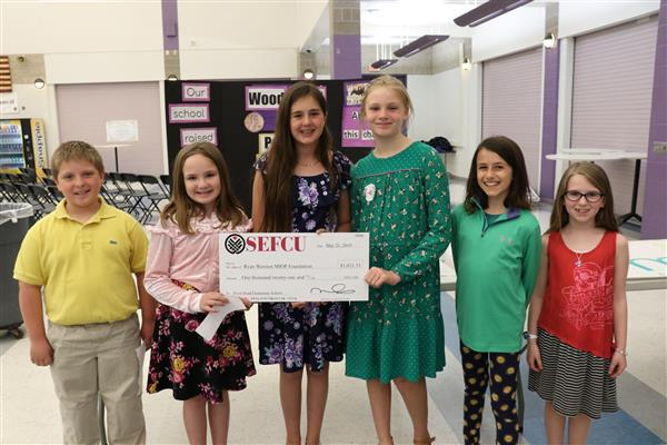 Penny Harvest Presents Check to MIOP