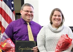 Ballston Spa Teachers Receive VFW Teacher of the Year Awards