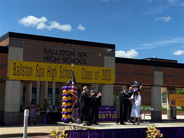 BSHS Graduation Diploma Ceremony