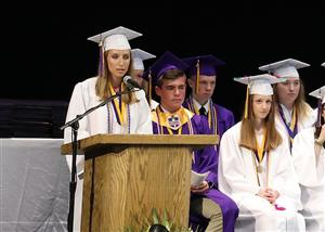 BSHS Class of 2019 - AR addresses the grads