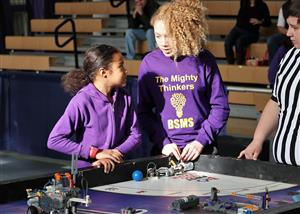 BSMS Team at FLL Competition