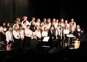 Ballston Spa High School Concert Choir presents the 2019 Winter Concert