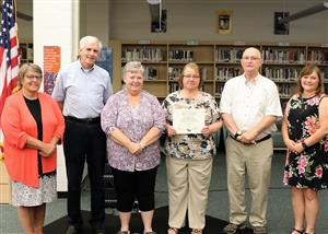 Ballston Spa Summer Lunch Program volunteers recognized by BOE