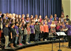 Gordon Creek Chorus presents at Winter Concert 2019
