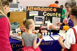 Health Expo 2019 - Attendance Counts at Gordon Creek ES