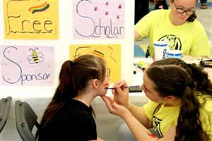 Health Expo 2019 - SAS Face Painting