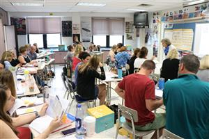 Teachers attend summer PD to learn new curriculum