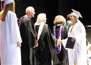 ME receives diploma - BSHS Class of 2019
