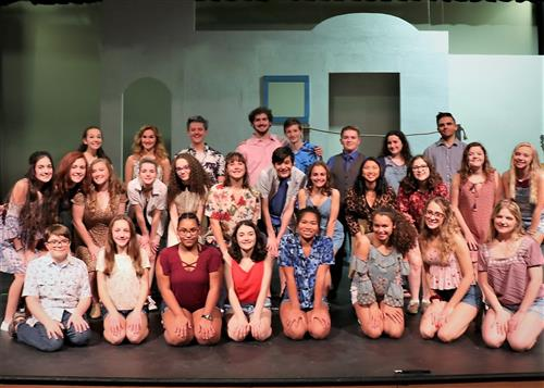Momma Mia Cast for Fall 2019 production at BSHS