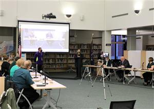 Music in our schools month presentation at BOE Meeting in March 2021