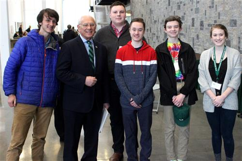 Youth Climate Summit  Lead team from BSHS with Rep. Tonko