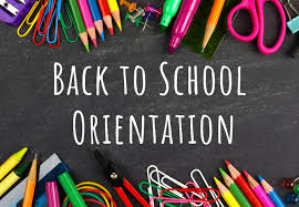 Back to School Virtual Orientation