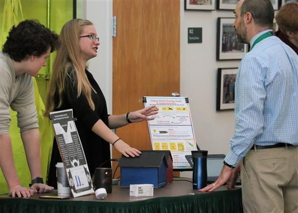 ECHS students present energy projects to parents and friends during January Expo 2020
